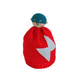 Little Hero Bobble Beanie
