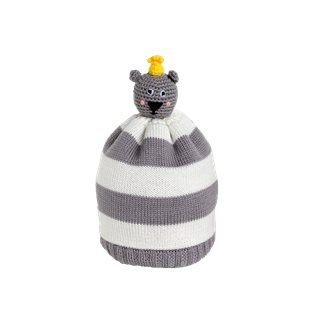 Little Bear Hug Beanie - Yellow
