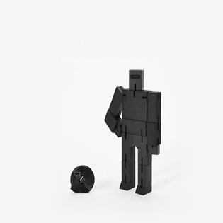 Small Cubebot - Black