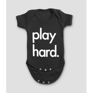 Play Hard Bodysuit - Black
