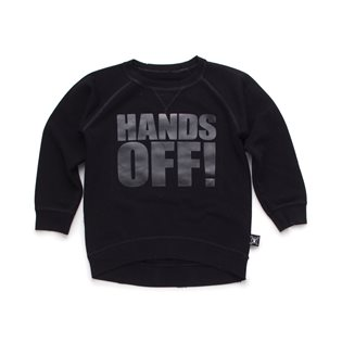Nununu Hands Off! Pullover - Black