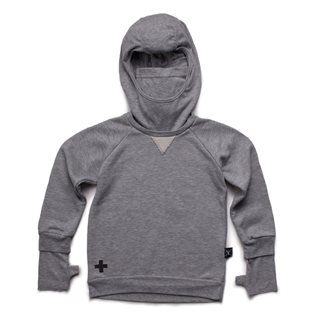 Nununu Ninja Sweatshirt - Heather Grey