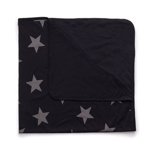 Nununu Star Blanket - Black