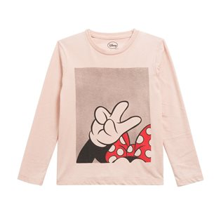 Minpeace - Minnie Mouse Long Sleeve Tee