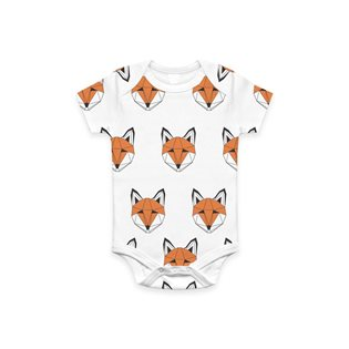 Just Call Me Fox Vest Romper