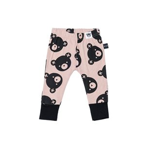 Falling Bears Skinny Leggings - Fawn