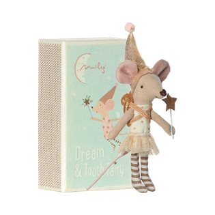 Maileg Matchbox Mouse - Girl Tooth Fairy