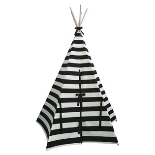 Stripe Teepee - Black Trim