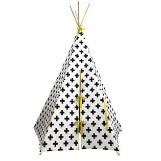 Cross Teepee - Yellow Trim
