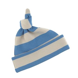 Sailor Blue & Sand Striped Hat
