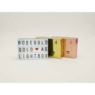 Cinematic A6 Lightbox - Rose Gold