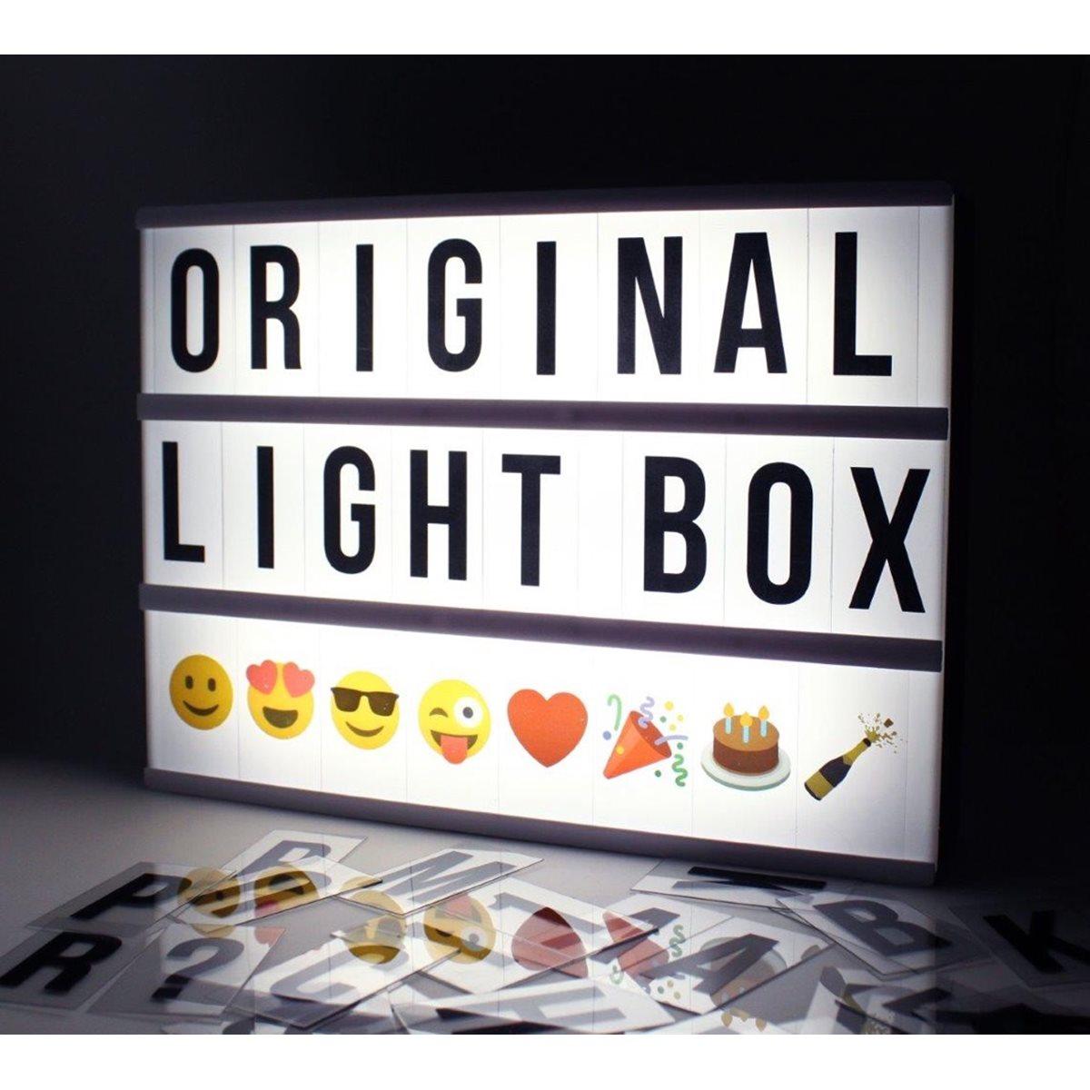 monkeymccoy cinematic a4 lightbox letter pack emoji. Black Bedroom Furniture Sets. Home Design Ideas