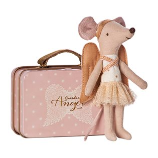 Maileg Mouse - Guardian Angel In Suitcase