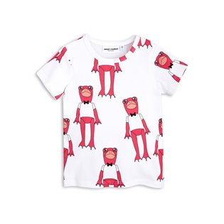 Frogs SS Tee - Cerise