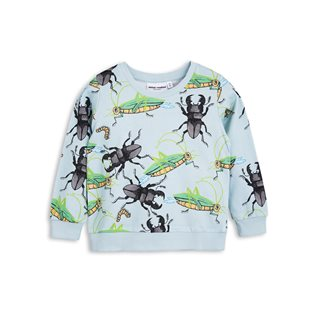 Insects Sweatshirt - Light Blue
