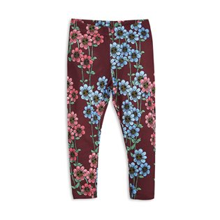 Daisy Leggings - Burgundy