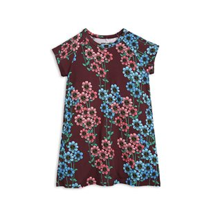 Daisy SS Dress - Burgundy