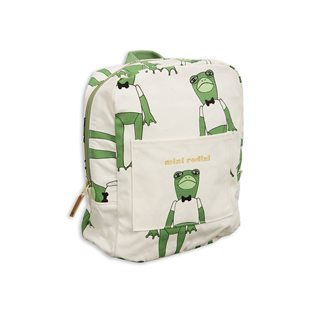Frog Backpack - Green