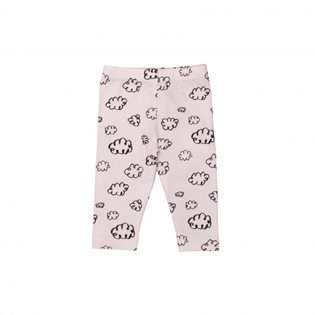 Noe & Zoe Baby Leggings - Black Clouds