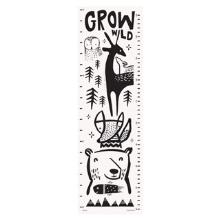 Canvas Growth Chart - Woodland