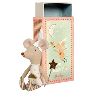 Maileg Matchbox Mouse - Tooth Fairy