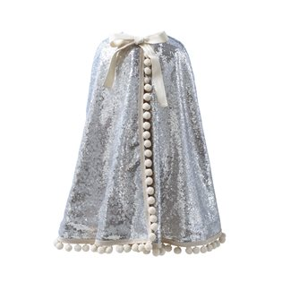 Diamond Pom Pom Cape