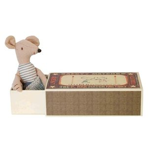 Maileg Matchbox Mouse - Daddy