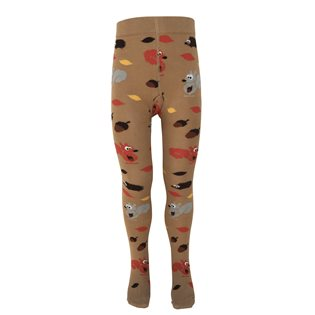 Autumn Baby Tights - Woodland Animals