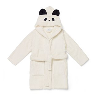 Lilly Bathrobe - Panda - Creme De La Creme