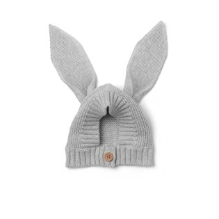 Villas Knitted Baby Hat - Rabbit - Dumbo Grey