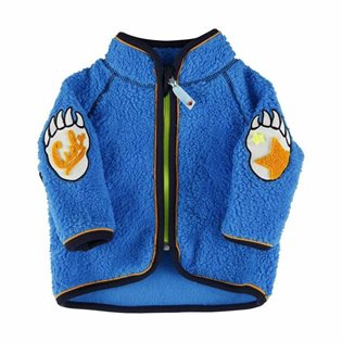 Molo Urvan Fleece Jacket - Electric Blue