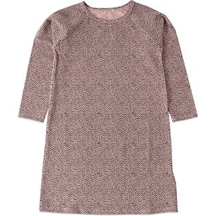 Gabrielle Nightdress - Silver Pink AOP Mini Pebbles