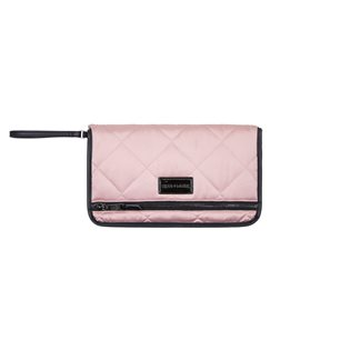 Etta Changing Clutch - Pink Quilt