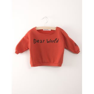 Dear World Baby Sweatshirt