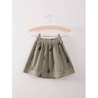 Sails Flared Skirt