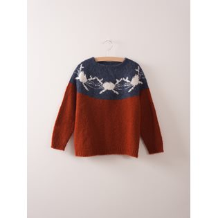 Crabs Yoke Knitted Jumper