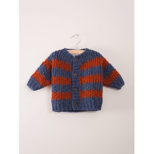Stripes Baby Knitted Cardigan