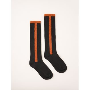 Bobo Choses Long Socks - Stripe Dark Slate