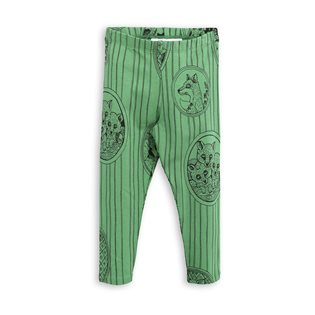 Fox Family Legggings - Green