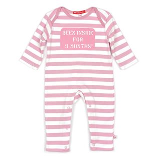 Been Inside 9 Months Playsuit - Pink