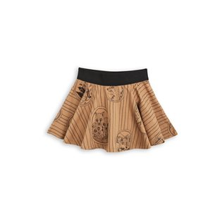Fox Family Skirt - Brown