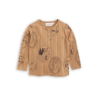 Fox Family Long Sleeve Grandpa - Brown