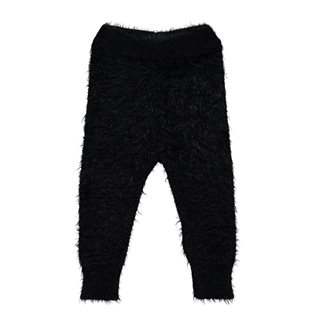 Beau Loves Baby Furry Pants - Black