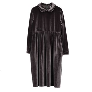 Beau Loves Velvet Margo Collar Dress