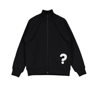 Beau Loves Funnel Neck Zip Jacket - Question Mark/Guess Who