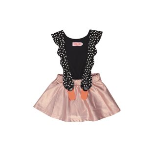 Bird Girl Copper Dress
