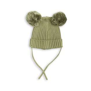 Mini Rodini Ear Hat - Green