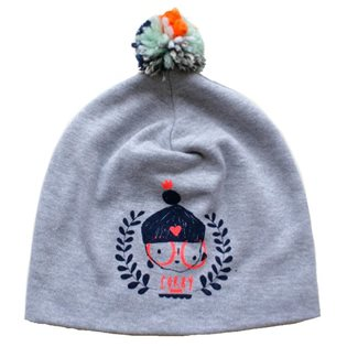 Corby Grey Marl Hat