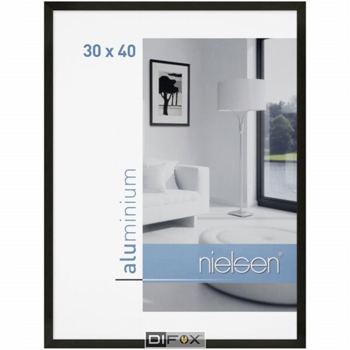 MonkeyMcCoy | Nielsen C2 black matt 30x40 Aluminium Frame - Monkey McCoy