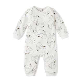 Swansy White - Baby Romper